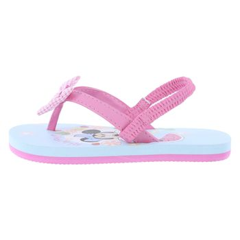 Disney Toddler Girls Minnie Bow Flip Flop Sandal