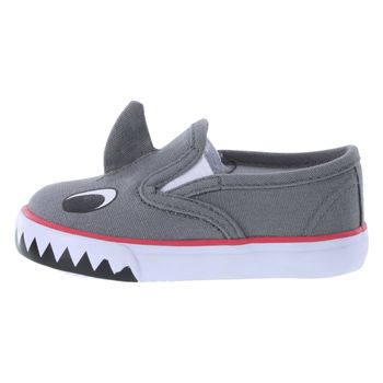 TEENY TOES INFANT BOYS SHARK HARDSOLE - WIDE WIDTH