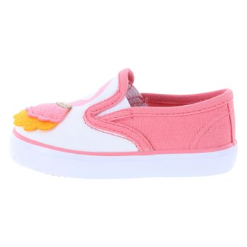 Teeny Toes Infant Girls Flamingo Hardsole Sneaker