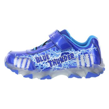 Monster Jam Boys Blue Thunder Sneaker