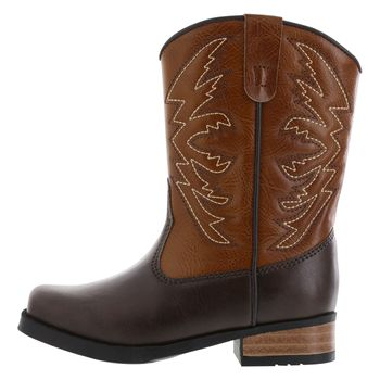 SMARTFIT TODDLER BOYS SQUARE TOE WESTERN BOOT