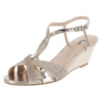 Fioni Womens Grace Wedge Dress Sandal