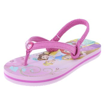 Disney Toddler Girls Jewel Princess Flip Flop Sandal