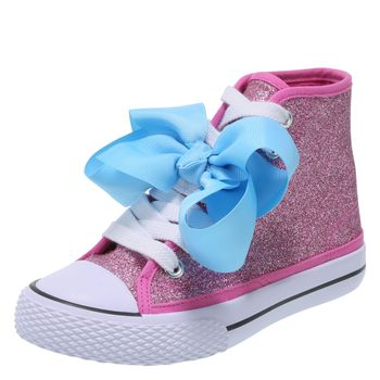 Nickelodeon Girls Jojo Legacee High Top Sneaker