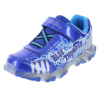 Monster Jam Boys Blue Thunder Sneaker