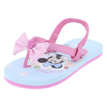 Disney Toddler Girls Minnie Bow Flip Flop Sandal