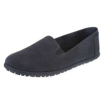 Safe-T-Step Womens Eve Slip-On Flat