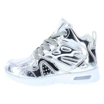 LA Gear Toddler Kids Lights High Top Sneaker