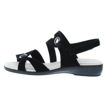 Comfort Plus By Predictions Womens Peggy Wedge Sandal - Wide Width