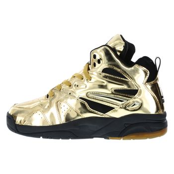 LA Gear Mens Lights High Top Sneaker
