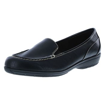 Comfort Plus By Predictions Womens Colby Loafer - Wide Width