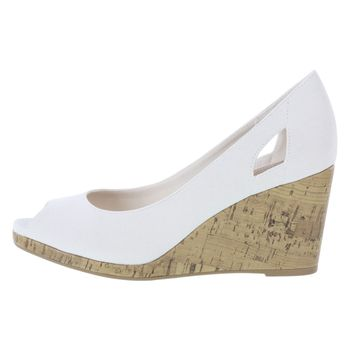 DEXFLEX COMFORT WOMENS CAI CANVAS WEDGE