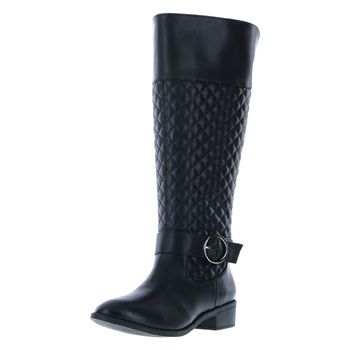 Fioni Womens Quill Quilted Boot