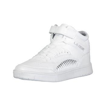 LA Gear Womens Boogie Retro High Top Sneaker