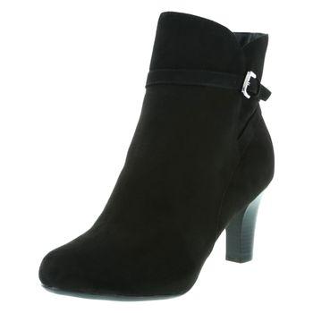 Fioni Womens Vanda Buckle Dress Boot