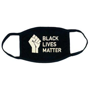 GOOD DAY MASKS ADULT FACE MASK - BLACK LIVES MATTER