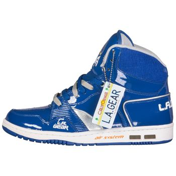 LA GEAR MENS HOOKSHOT BASKETBALL HIGH-TOP