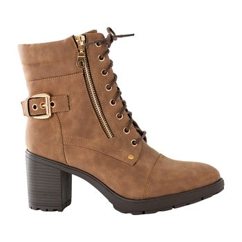 MUDD WOMENS RYDER LACE UP BOOT