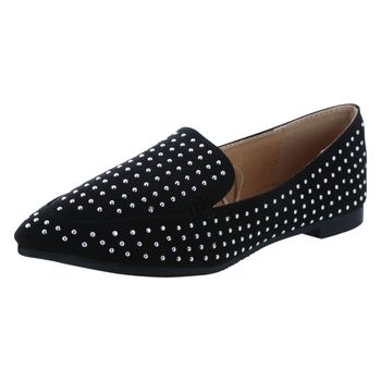 Mudd Womens Claire Studded Loafer