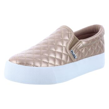 Mudd Womens Beyley Quilted Twin Gore Sneaker