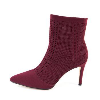 Nicole Miller Womens Knit Dnonito Bootie