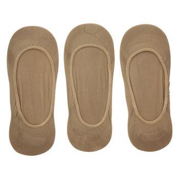 Minicci Womens 3Pk Basic No-Show Socks