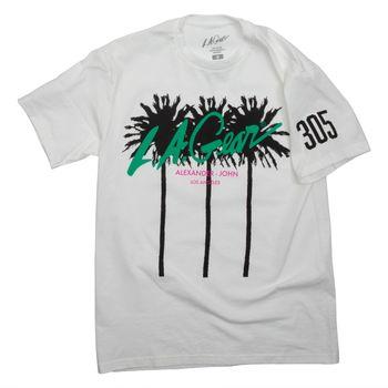 LA Gear Womens Palm Tree T-Shirt By Alexander John