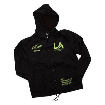 LA Gear Unisex Coach Jacket By Alexander John