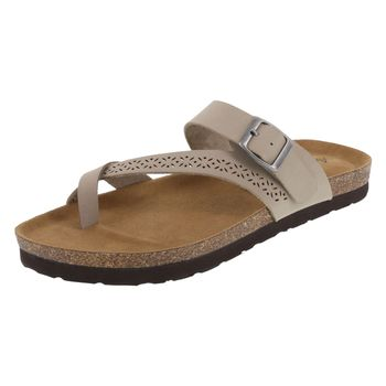 American Eagle Womens Opal Footbed Slide Sandal