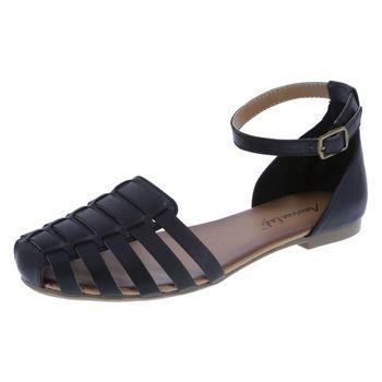 American Eagle Womens Peyton Flat Sandal