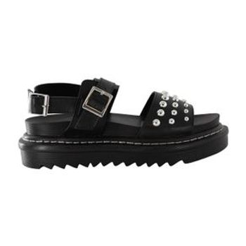 Mudd Womens Alexis Studded Footbed Sandal