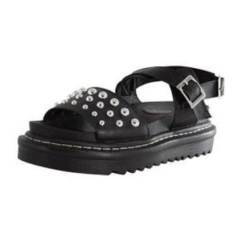 MUDD WOMENS ALEXIS STUDDED FOOTBED