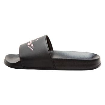 LA Gear Womens Retro Classic Slide Sandal