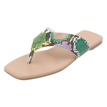 Brash Womens Varick City Thong Sandal