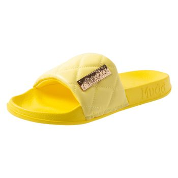 Mudd Womens Billie Quilted Slide Sandal