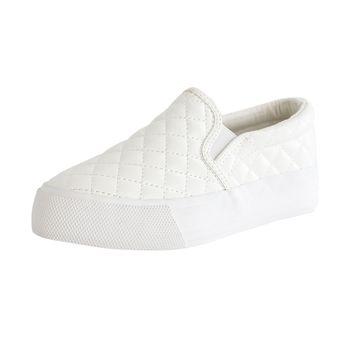 Mudd Girls Bayley Quilted Slip-On Sneaker