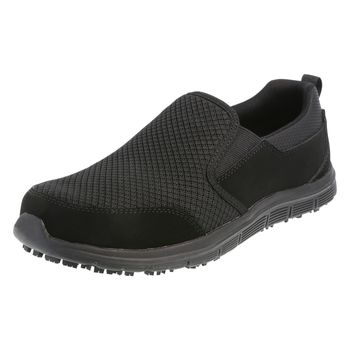 Safe-T-Step Womens Avail Slip-On Sneaker - Wide