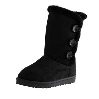 Mudd Girls Cherry High Cozy Boot